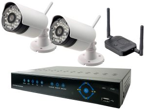 Wireless security cameras in Dubai